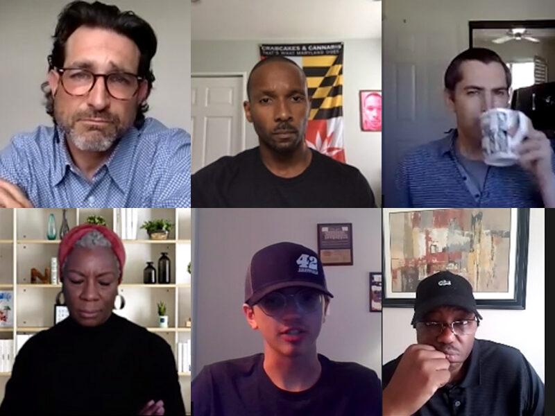 Screenshot of the panelists